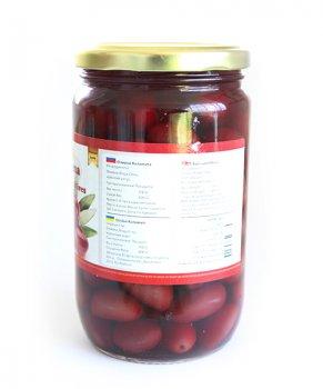 Бурые оливки целые Aegean Athena Kalamon 700 г (60003)