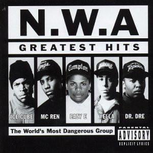 Виниловая пластинка N.W.A Greatest Hits (арт. 5852)