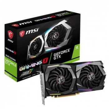 Видеокарта MSI GeForce GTX1660 Ti 6144Mb GAMING X (GTX 1660 TI GAMING X 6G)