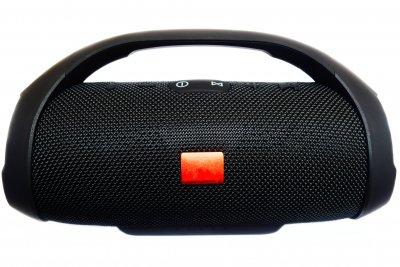 Портативна bluetooth колонка вологостійка T&G Boombox Чорна (Boombox Mini Black)