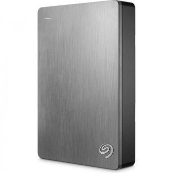 """Накопичувач зовнішній HDD 2.5"""" USB 4.0 TB Seagate Backup Plus Portable Silver (STDR4000900)"""