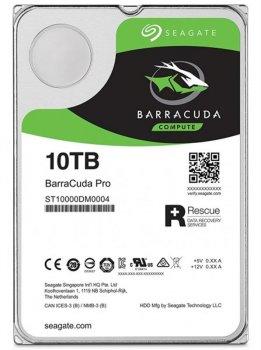 Накопичувач HDD SATA 10.0 TB Seagate Barracuda Pro 7200rpm 256MB (ST10000DM0004)