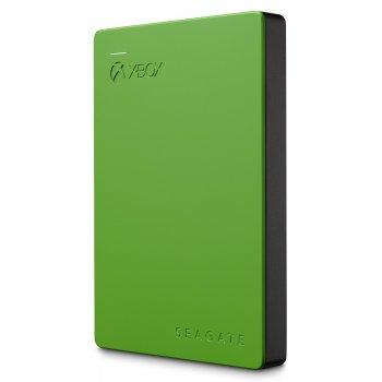 """Накопичувач зовнішній HDD 2.5"""" USB 2.0 TB Seagate Game Drive Xbox Green (STEA2000403)"""