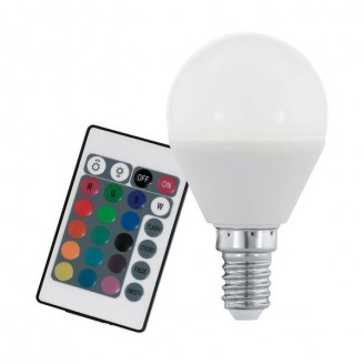 Лампа світлодіодна Eglo 10682 P45 4W RGB 220V E14 Dimmable