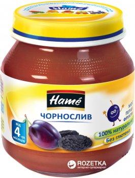 Упаковка фруктового пюре Hame Чорнослив з 4 місяців 125 г х 10 шт. (8595139791179)