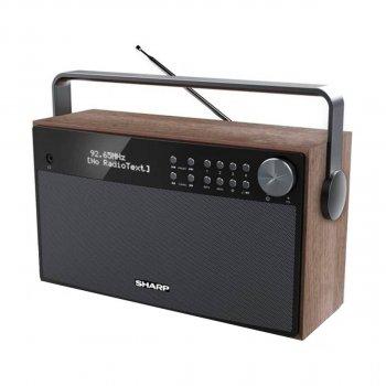 SHARP Stereo Portable Bluetooth DAB-Radio (DR-P355)