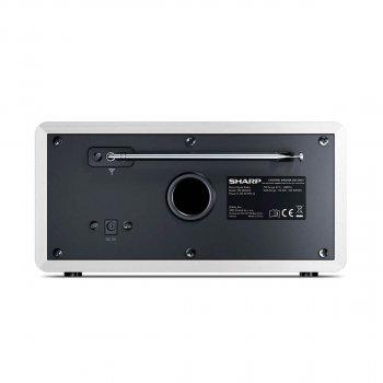 SHARP Digital Radio White (DR-450(WH))