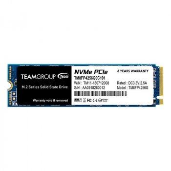 256GB Team MP34 M. 2 2280 PCIe 3.0 x4 3D MLC (TM8FP4256G0C101)