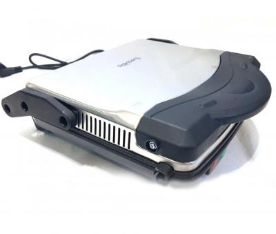 Гриль електричний Rainberg RB-5406 1500W контактний для будинку барбекю-електрогриль