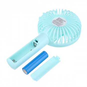 Ручний портативний вентилятор Handy Mini Blue (Eternal ST-09) Блакитний