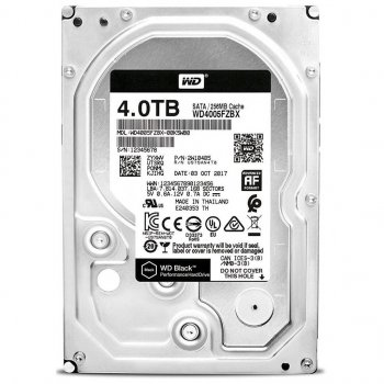"Жорстку диск 3.5"" 4TB Western Digital (WD4005FZBX)"