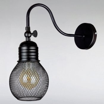 Бра Light House LS-13448F3-1 BK чорне
