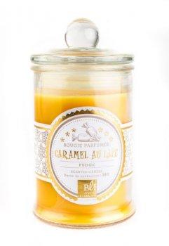 Свічка ароматизована BLF BONBONNIERE 30H Caramel au lait GLASS 459225-BLF H9D6CM 6 см