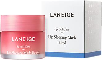 Ночная восстанавливающая маска для губ Laneige Lip Sleeping Mask Berry 20 мл (8809643053273)