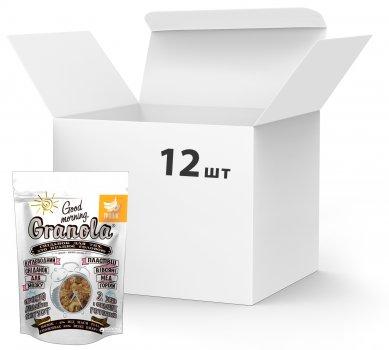 Упаковка сухих завтраков Good morning Granola Тропик 330 г х 12 шт (24820192180072)