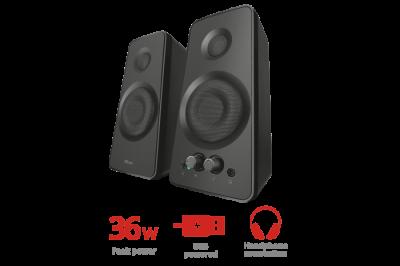 Комплект Колонок Trust Cilax 2.0 speaker set - black(22917)