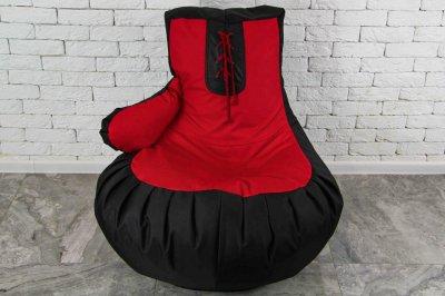 Безкаркасне Крісло мішок груша пуфик XL (120х75) боксерська груша рукавичка