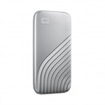 Портативний SSD USB 3.0 WD Passport 500GB R1050/W1000MB/s Silver