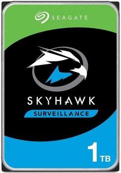 """Жесткий диск Seagate 3.5"""" SATA 3.0 1TB 5900 64MB SkyHawk"""