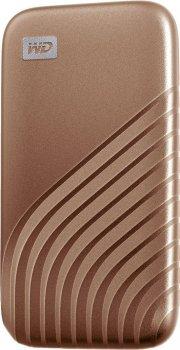 Портативний SSD USB 3.0 WD Passport 500GB R1050/W1000MB/s Gold