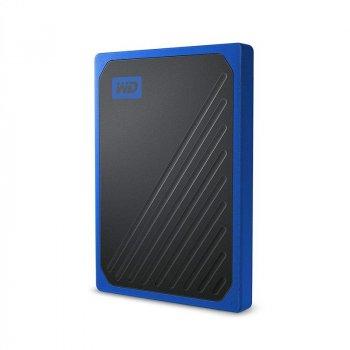 Портативний SSD USB 3.0 WD Passport Go 1TB Blue
