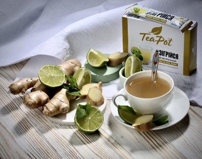Чай имбирный концентрированный в стиках TeaPot 20 г x 9 шт (4820143390501_ 4820143390594)