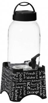 Диспенсер для напитков Herevin Beverage Fresh с подставкой 3 л (137605-001)