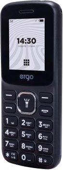 Мобільний телефон Ergo B182 Dual Sim Black