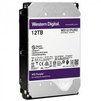 """Жесткий диск 3.5"""" 12TB Western Digital (WD121PURZ)"""