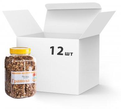 Упаковка Гранола Oats&Honey Классическая 454 г х 12 шт (4820013334093_40847872)