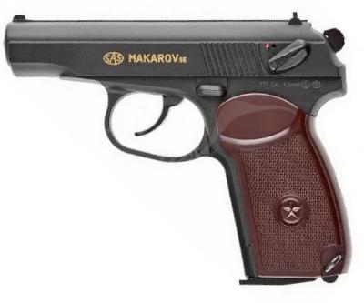 Пистолет пневматический SAS Makarov SE, 4,5 мм
