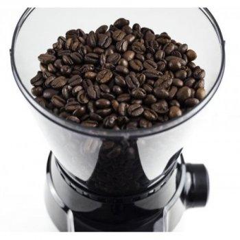 Кофемолка жерновая Caso Germany Barista Flavor 1832 с дисплеем и регулировкой помола + 2 контейнера, таймер и подсветка 150 Вт Металлик/Черный
