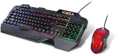 Комплект дротовий Vinga KBSG558 USB Black UKR RUS