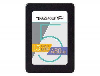 "Накопичувач SSD 480GB Team L5 Lite 2.5"" SATAIII TLC (T2535T480G0C101)"