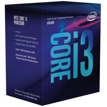 Процессор Intel s1151 Core i3-8300 3.7GHz s1151 (BX80684I38300) Box