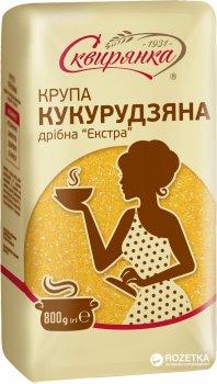 Упаковка крупы кукурузной мелкой Сквирянка Экстра 800 г х 6 шт (4820006018948)