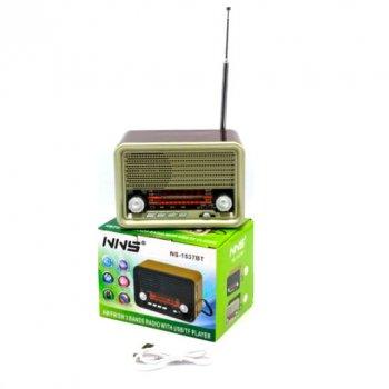 Радиоприемник колонка NS-1537BT NNS 30960-BR-1560