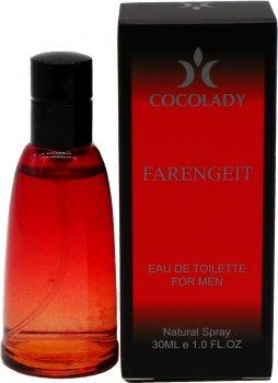 Парфюмированная вода для мужчин Cocolady Farengeit 30 мл (4820218791011)