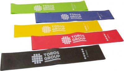 Гумки Торос-Груп для занять фітнесом 5 шт. Різнобарвні (4820192752725) (ТР-003/1)