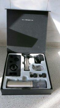 Набір для вина Vin Bouquet електричний штопор і вакуумні пробки (WS_FI 002 SET)