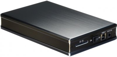 "Зовнішня кишеня Nitrox для HDD 3.5"" SATA III - USB 3.0 (GD-35633)"