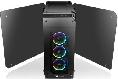 Корпус Thermaltake View 71 Tempered Glass RGB Plus Edition Black (CA-1I7-00F1WN-02)