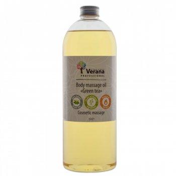 Масло массажное Verana Green Tea Зелёный чай увлажняющее 1 л