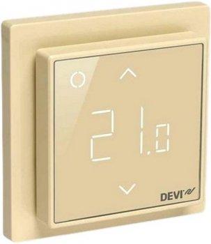 Терморегулятор DEVI Devireg Smart WiFi (сл.кістка) програмований для теплої підлоги