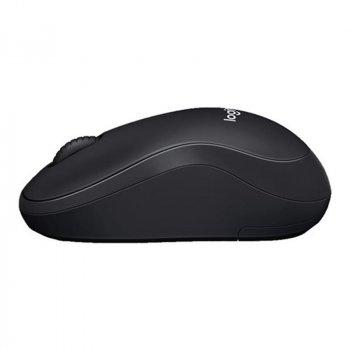 Миша бездротова Logitech B220 Silent (910-004881) Black USB