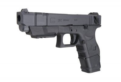 Пістолет WE Glock 26C Advance Gen.3 GBB BLK (Страйкбол 6мм)