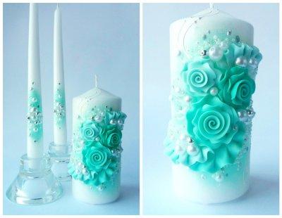 Набор свадебных свечей Bispol 3 шт (СC116-047)