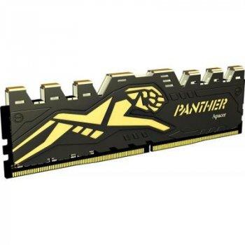 Модуль пам'яті для комп'ютера DDR4 8GB 2133 MHz Black Panther Apacer (EK.08G2R.GDC)