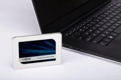 Твердотільний накопичувач SSD Micron 250GB Crucial MX500 SATA 3D TLC (CT250MX500SSD1)