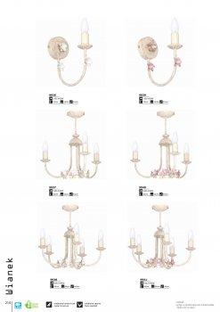 Бра Luminex 9939 Wianek pink
